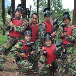 Permainan Outbound Paint Ball Murah Di Bandung
