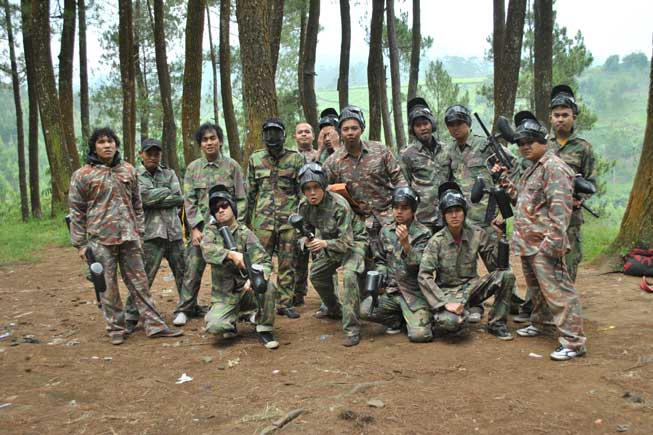 olahraga paintball