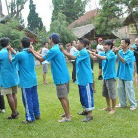 Outbound Training Team Building Bersama Cileunca Adventure