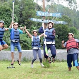 Rafting Arung Jeram Pangalengan feat Happy Family